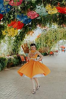 Šaty - plisované šaty Poľana - 10664086_