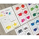 Hračky - Farby - Pracovná časť na suchý zips - 10661010_