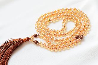 Náhrdelníky - Náhrdelník zlatý kryštál - 10663957_