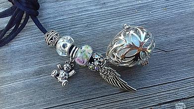 Iné šperky - Darček pre buducu mamičku Mexická bola - 10660403_