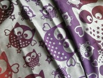 Natibaby Owls Purple