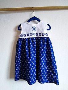 Detské oblečenie - Folklórne šatičky Zuzka - 10662647_