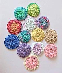 Úžitkový textil - Čistiace tampóny mix - 10660946_