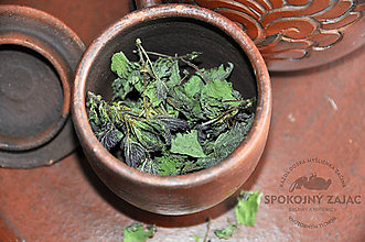 Potraviny - čaj - ŽIHĽAVA - bylinky - 10661651_