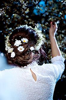 Ozdoby do vlasov - Sada romantických vláseniek - 6 kusov - 10661881_