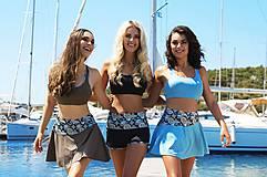Sukne - Tenisová sukňa modrá - 10660565_