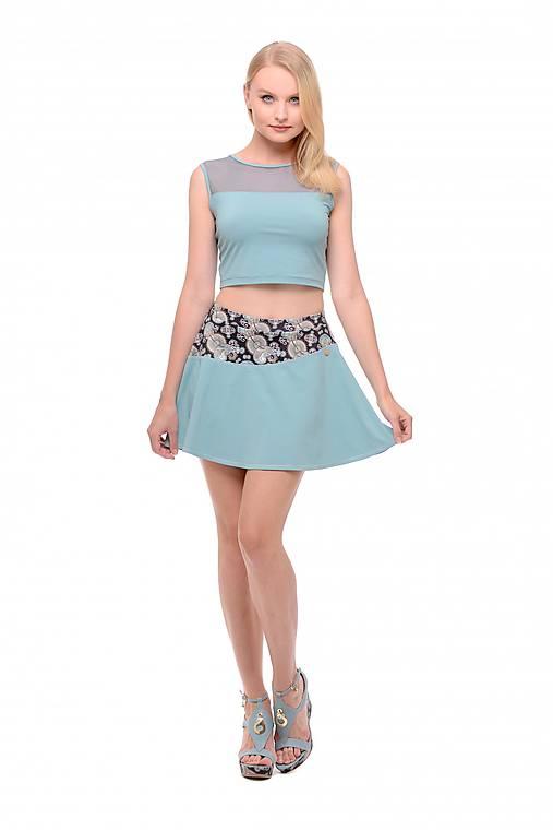 Tenisová sukňa modrá