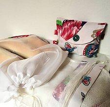 """Nákupné tašky - Eko set """" Na krídlach motýlích"""" - 10662952_"""