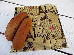 Úžitkový textil - voskovaný obrúsok PARIS - 10660457_