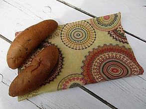 Úžitkový textil - voskované vrecko-desiatové - 10661042_