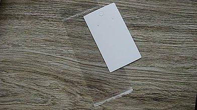 Obalový materiál - Karta na šperky/náušnice + obal, sada 2 ks - 10660976_