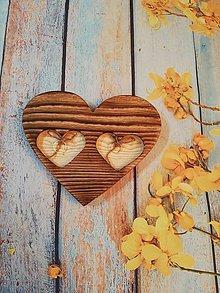 Darčeky pre svadobčanov - Podnos na obrúčky - 10663492_