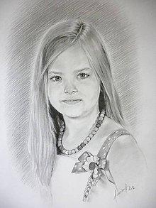 Kresby - Portrét podľa fotografie - 10661509_