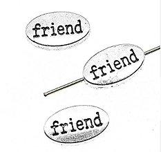 Korálky - Korálka FRIEND - 10661844_
