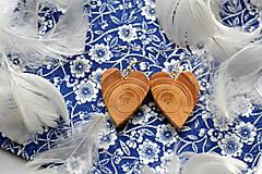 Náušnice - Náušnice - Srdce anjela - 10661286_