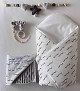Textil - Set pre bábätko - Spiace očká - 10665278_