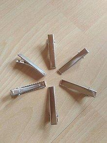 Komponenty - vlasový štipček, pinetka, sponka - 10665056_