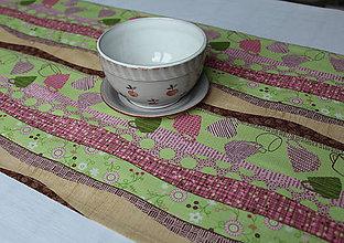 Úžitkový textil - obrus - štóla CUP 84 x 40 cm - 10667031_
