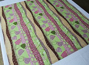 Úžitkový textil - Stredový obrus CUP 63 x 63 cm - 10667103_