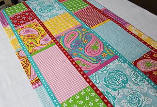 Úžitkový textil - obrus - štóla 115 x 45 cm - 10667250_