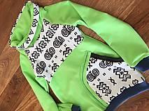 Detské oblečenie - Čičmany mikina - 10665894_