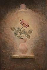 Obrazy - Ruža na polici - 10667171_