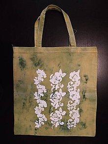 Nákupné tašky - taška - hočicová s ornamentom - 10665034_