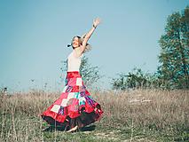 Sukne - Maxi sukňa Nika - 10665668_
