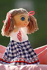 Maňuška. Bábika dievčatko Eliška.