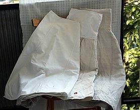 Sukne - Ľan. Spodná krojová ľanová sukňa. - 10664878_