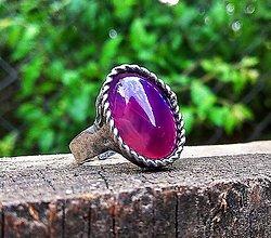 Prstene - ZĽAVA Violett - 10666346_