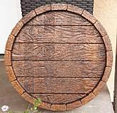 Drevorezba Tácka / Stôl ,starý sud