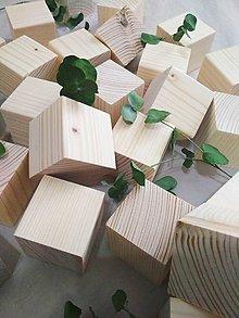 Hračky - Natur drevené kocky - 10665418_