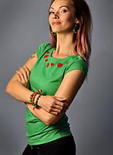 Tričká - Májové zelené - 10665998_