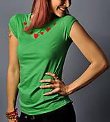 Tričká - Májové zelené - 10665999_