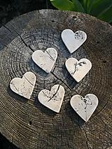 Darčeky pre svadobčanov - srdiečka magnetky - 10665243_