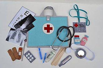 Hračky - Lekársky kufrík v plnej výbave - 10667067_