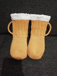 Bielizeň/Plavky - Háčkované ponožky