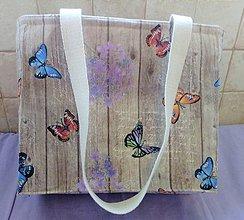 Veľké tašky - Taška motýľ - 10664999_