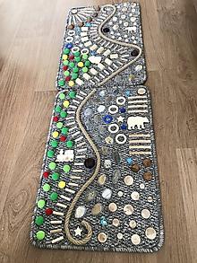 Detské doplnky - Senzomotorický koberec Double - 10667750_