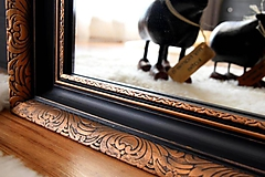 Zrkadlá - Zrkadlo Grafitovo-bronzová elegancia - 10664841_