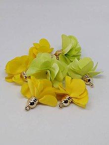 Polotovary - Textilné kvety - pár - 10666523_