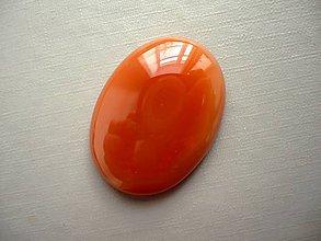 Minerály - Kabošon - achát oranžový 32 mm, č.26f - 10667575_