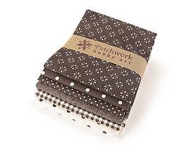 Textil - Bavlnené látky - balíček TFQ138 - 10665321_