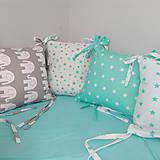 Textil - Hniezdo do postieľky pre dieťatko - 10665436_