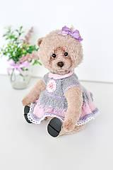 Hračky - Háčkovaný medvedík - 10666149_