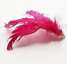 Ozdoby do vlasov - Fascinátor z peria - 10666866_