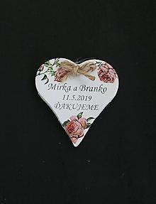 Darčeky pre svadobčanov - Darček pre svadobčanov I. - 10669674_