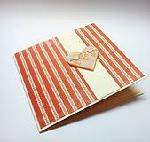 Papiernictvo - Pohľadnica ... trošku retro ♥ - 10669730_