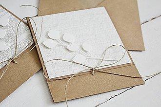 Papiernictvo - Natur pozdrav - eukalyptus I - 10668116_